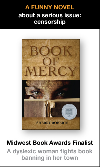 Book of Mercy - a funny novel about a serious subject: censorship