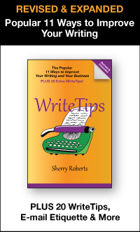 WriteTips - helpful ways to make your business writing better